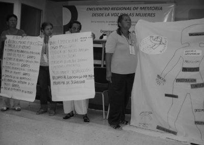 Empoderament de les dones víctimes del conflicte armat a la regió de Magdalena Medio, Colòmbia (2011)